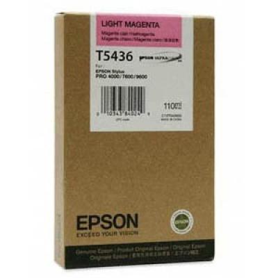 Epson C13T543600 világos bíborvörös (light magenta) eredeti tintapatron
