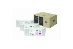 HP 83 C5077A 3ks světle purpurová (light magenta) originální cartridge