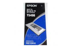 Epson C13T549800 matná čierna (matte black) originálna cartridge