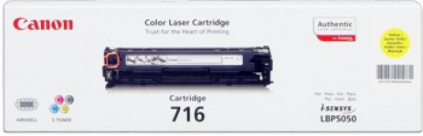 Canon CRG-716 yellow original toner