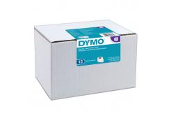 Dymo 99014, S0722420, 54mm x 101mm, originální papírové štítky, 12ks