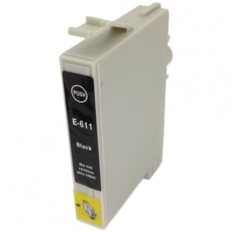 Epson T0611 black compatible cartridge
