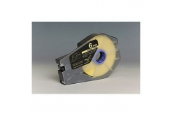 Kompatibilní samolepicí páska pro Canon / Partex M-1 Std/M-1 Pro, 6mm x 30m, kazeta, žlutá