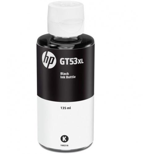 HP original ink cartridge bottle 1VV21AE, GT53, black, 6000 pages, 135ml, HP Deskjet GT 5810, 5820, InkTank 115, 116, 315