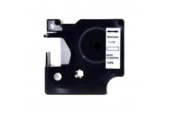 Dymo 5379C, 24mm x 4m, černý tisk / bílý podklad, čisticí, kompatibilní páska