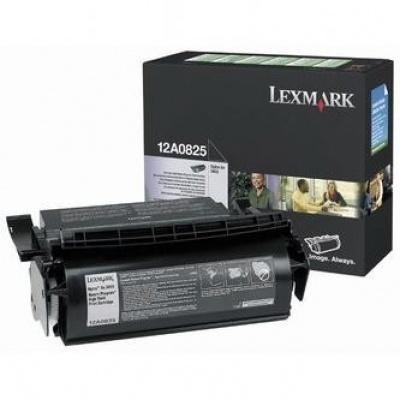 Lexmark 12A0825 černý (black) originální toner