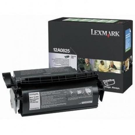 Lexmark 12A0825 negru (black) toner original