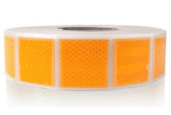 3M 997-71S Diamond Grade Reflexní pružné čtverce 50 x 50 mm, žluté