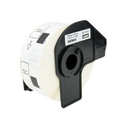 Brother DK-11215, 29mm x 42mm, 700ks, kompatibilní role etiket