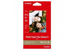 "Canon PP-201 Photo Paper Plus Glossy, hartie foto, lucios, alb, 10x15cm, 4x6"", 275 g/m2, 50 buc"