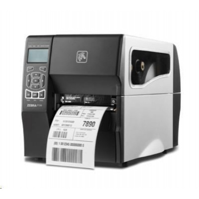 Zebra ZT230 ZT23043-T3E200FZ drukarka etykiet, 12 dots/mm (300 dpi), peeler, display, ZPLII, USB, RS232, Ethernet