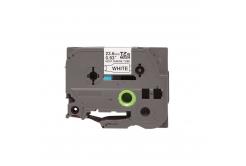 Kompatibilní páska s Brother HSe-151, 23,7mm x 1,5m, černý tisk / průhledný podklad