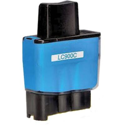 Brother LC-900C azurová (cyan) kompatibilní cartridge