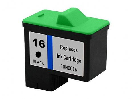 Lexmark 16 10N0016 fekete (black) utángyártott tintapatron