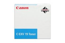 Canon C-EXV19 0398B002 azurový (cyan) originální toner