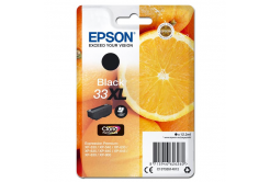 Epson originální ink C13T33514012, T33XL, black, 12, 2ml, Epson Expression Home a Premium XP-530, 630, 635, 830