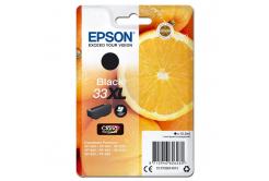 Epson originální ink C13T33514012, T33XL, black, 12, 2ml, Epson Expression Home a Premium XP-530, 630, 635, 830