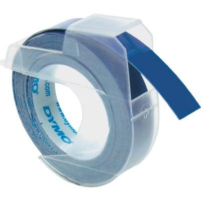 Dymo S0898140, 9mm x 3m, bílý tisk/modrý podklad, originální páska