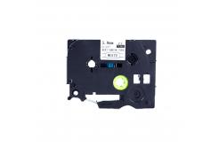 Kompatibilní páska s Brother HSe-111, 5,8mm x 1,5m, černý tisk / průhledný podklad