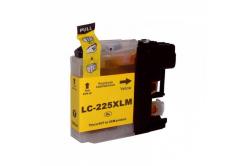 Brother LC-225XL žlutá (yellow) kompatibilní cartridge