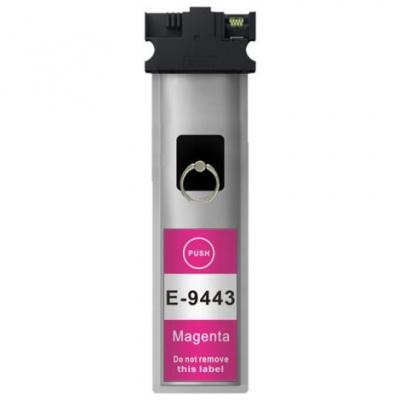 Epson T9443 purpurová (magenta) kompatibilní cartridge