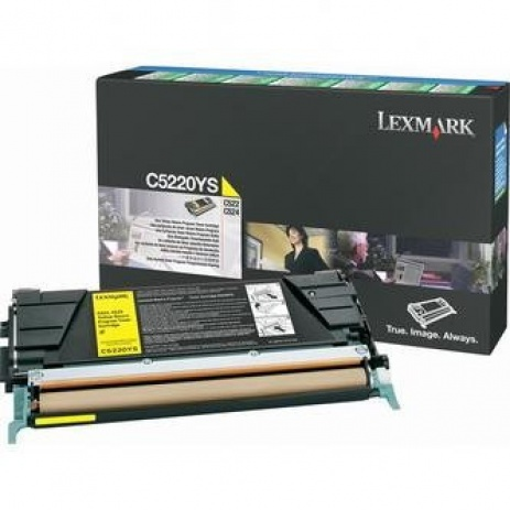 Lexmark C5220YS sárga (yellow) eredeti toner