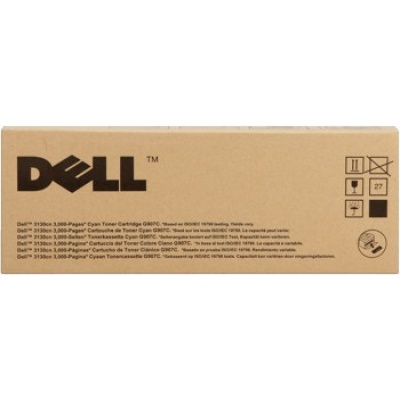 Dell 593-10294 błękitny (cyan) toner oryginalny