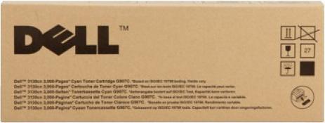 Dell 593-10294 azuriu (cyan) toner original
