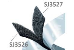 3M Hook & Loop SJ3527 černý, smyčky, 25 mm x 45,7 m