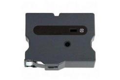 Brother TX-611, 6mm x 15m, čierna tlač / žltý podklad, originálna páska