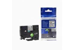 Kompatibilní páska s Brother TZ-S231/TZe-S231 12mm x 8m extr.adh. černý tisk/bílý podklad