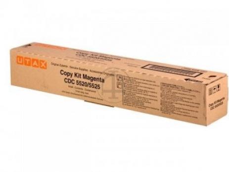 Utax 652511014 purpurový (magenta) originální toner