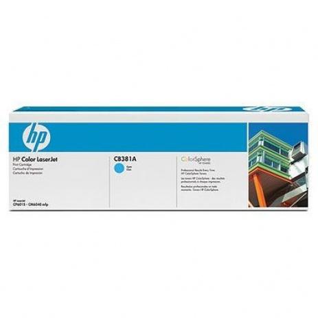 HP 823A CB381A cián (cyan) eredeti toner