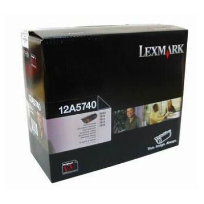 Lexmark 12A5740 černý (black) originální toner