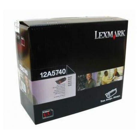 Lexmark 12A5740 fekete (black) eredeti toner