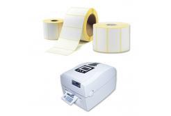 Samolepicí etikety 40x30 mm, 1000ks, termo, role