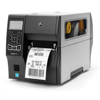 Zebra ZT410 ZT41043-T2E0000Z drukarka etykiet, 12 dots/mm (300 dpi), cutter, RTC, display, EPL, ZPL, ZPLII, USB, RS232, BT, Ethernet