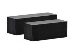 Evolis C8122 50x120mm PVC kártya, fekete matt, 100db