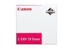 Canon C-EXV19 bíborvörös (magenta) eredeti toner