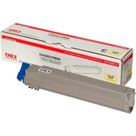 OKI 42918913 yellow original toner