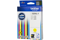 Brother LC-525XLY žlutá (yellow) originální cartridge