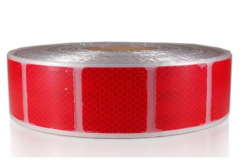 3M 997-72S Diamond Grade Reflexní pružné čtverce 50 x 50 mm, červené