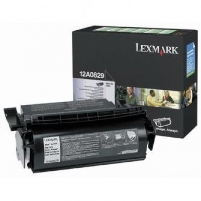 Lexmark 12A0829 černý (black) originální toner