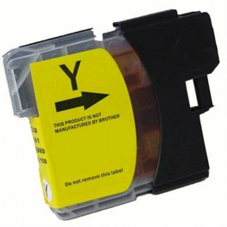 Brother LC-525 Yellow compatible cartridges