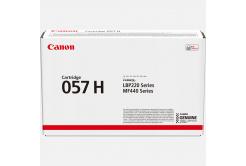 Canon originálny toner 057H, black, 10000 str., 3010C002, high capacity, Canon LBP228, LBP226, LBP223, MF449, MF446, MF445, MF443