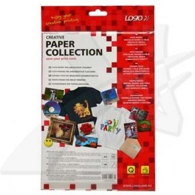 Logo foto papír, lesklý, bílý, A4, 180 g/m2, 1440dpi, 10 ks, 20063, inkoustový