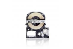 Epson LC-ST9KW, 9mm x 8m, czarny druk / przezroczysty podkład, taśma zamiennik