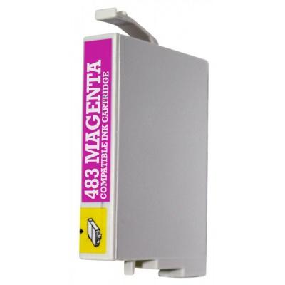 Epson T0483 purpurová (magenta) kompatibilní cartridge