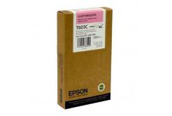 Epson T603C00 světle purpurová (light magenta) originální cartridge