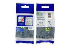 Kompatibilní páska s Brother TZ-M911 / TZe-M911, 6mm x 8m, černý tisk / stříbrný podklad